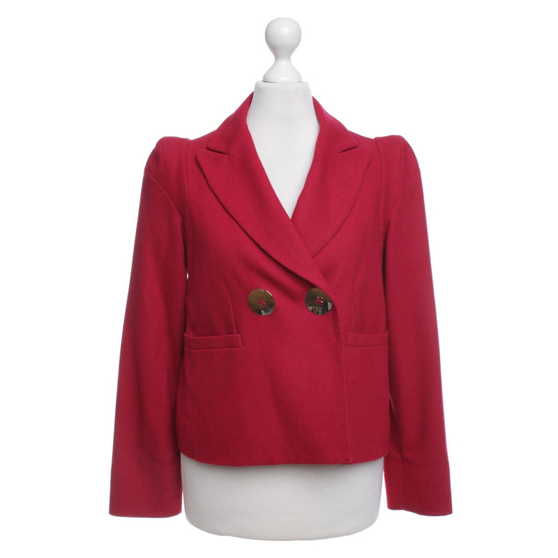 Sonia Rykiel Blazer in red Sonia Rykiel Blazer in red ...