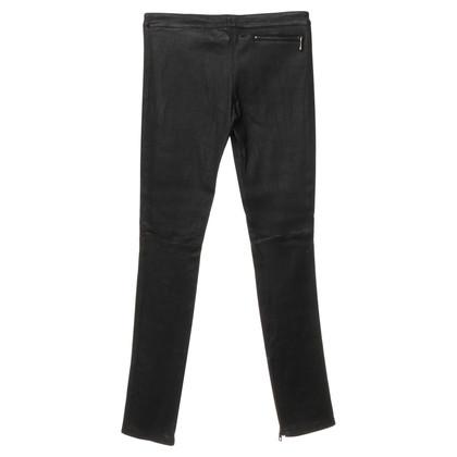 Altre marche Sly 010 - pantaloni di pelle in nero