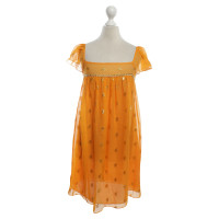 Milly Dress in orange