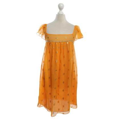 Milly Dress in orange