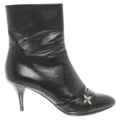 Louis Vuitton Leather ankle boots in black