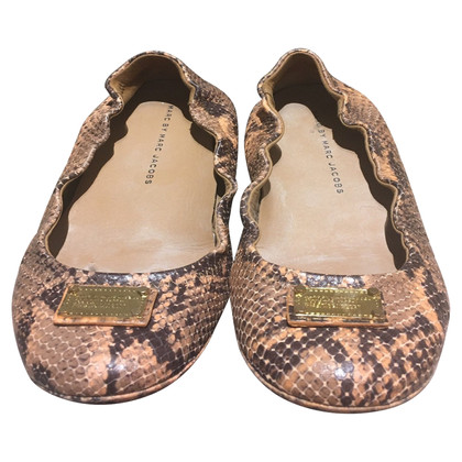Marc Jacobs Ballerina's Python Leather