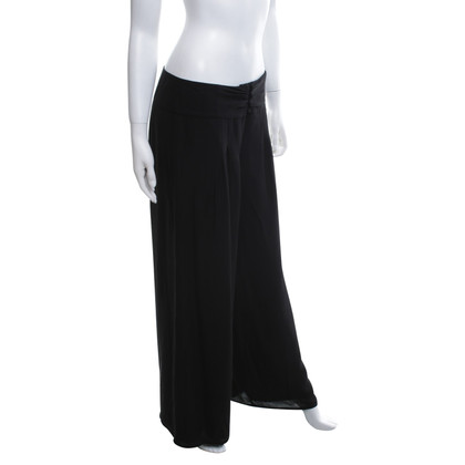 Hoss Intropia Silk trousers in black