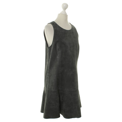 Balenciaga Suede dress anthracite