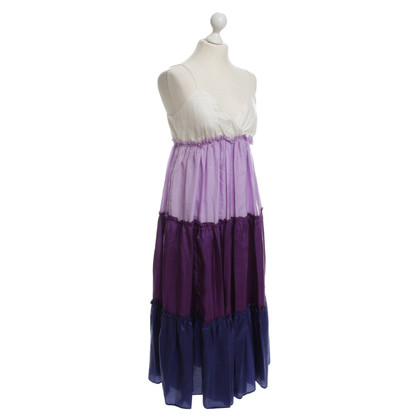 P.A.R.O.S.H. Silk dress in purple