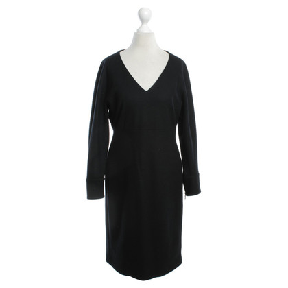 Strenesse Scheerwol jurk in zwart