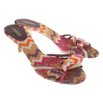 Missoni Mules in colorful