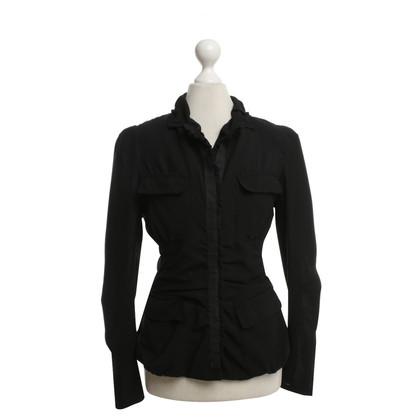 Donna Karan blouse zwart