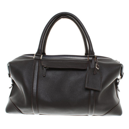 René Lezard Travel bag in brown