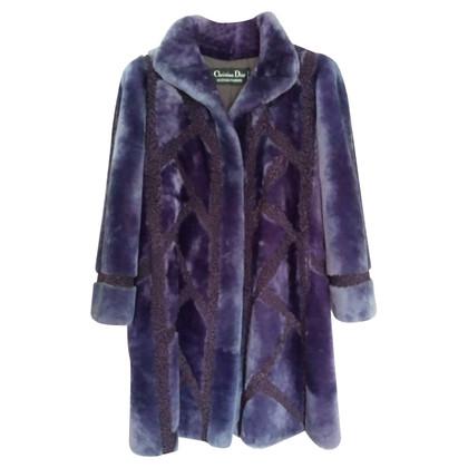 Christian Dior Coat bever schapenvacht