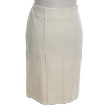 Marc Cain Wool skirt in cream