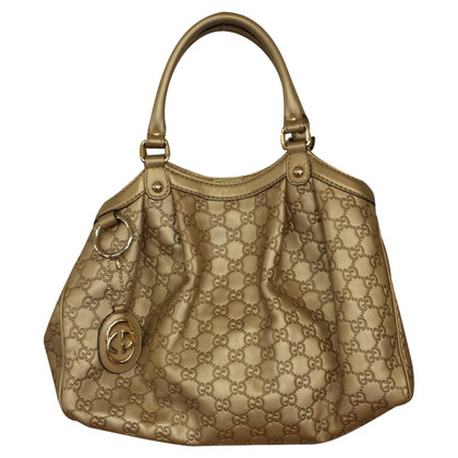 "Gucci ""Sukey Bag"" in Goldfarben"
