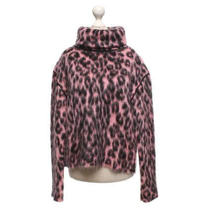 Céline Sweater in black / pink