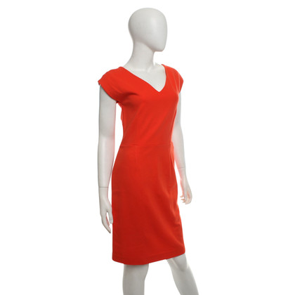 Hugo Boss Kleid in Orange