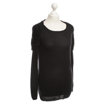 Prada Pullover in maglia nero