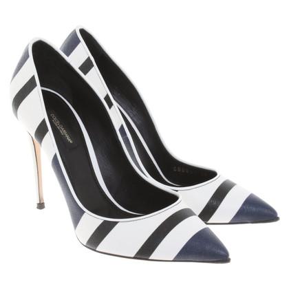 Dolce & Gabbana pumps in pelle saffiano