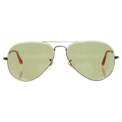 Ray Ban Zonnebril in zwart / Red