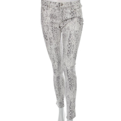 The Kooples Skinny jeans with reptile print