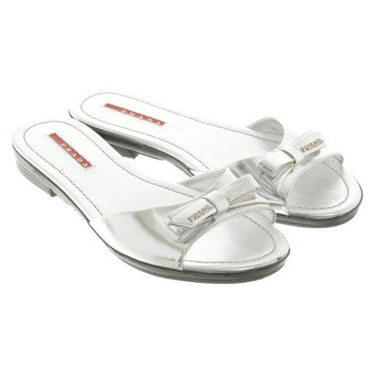 Prada Sandals in zilver