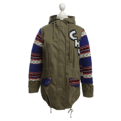 Camouflage Couture Parka in Multicolor
