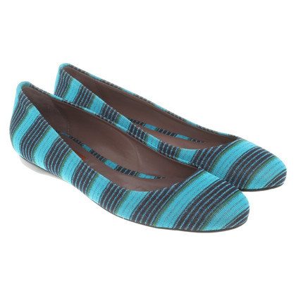 Missoni Ballerinas with striped pattern