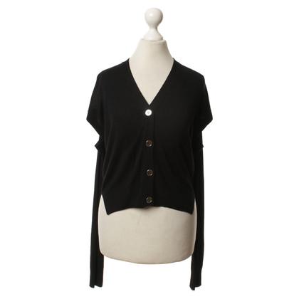 Maison Martin Margiela Vest in zwart