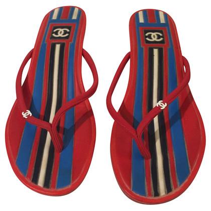 Chanel flip flop