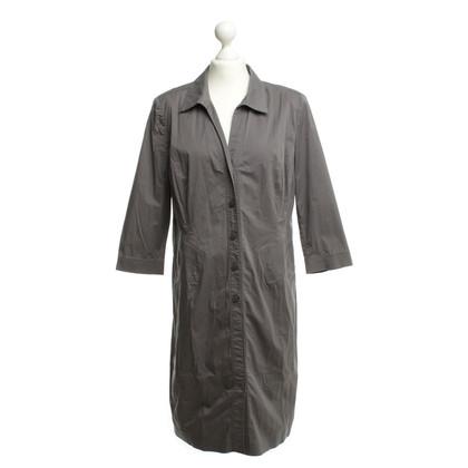 Riani Katoenen jurk grijs
