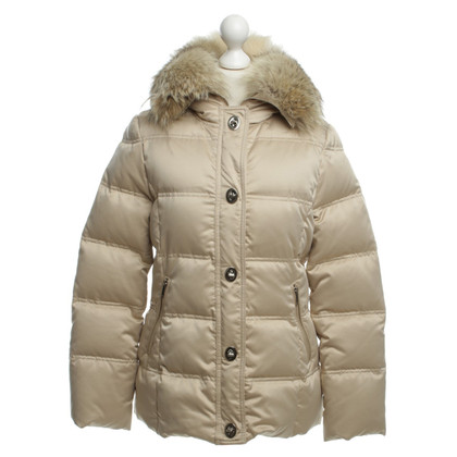 Coach Down jacket with fur hood