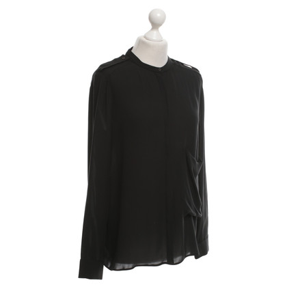 Theory Silk blouse in black
