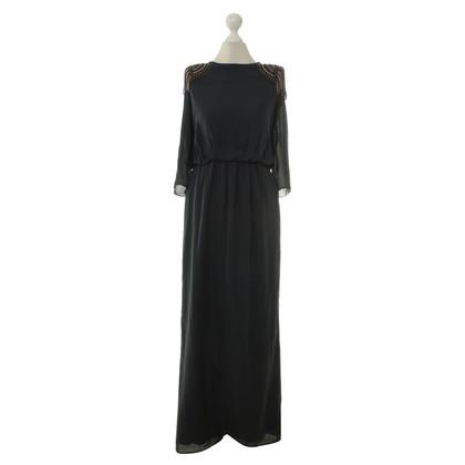 Tibi Long dress in dark blue