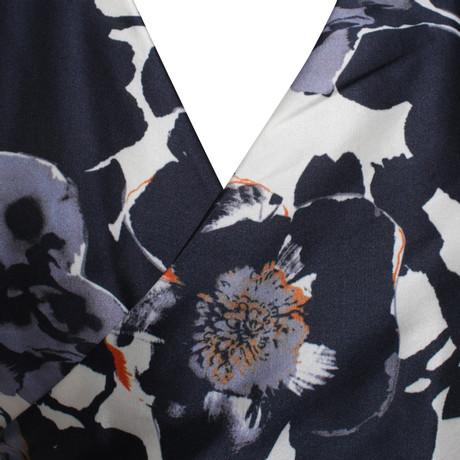 Mit Visum Günstig Online Bezahlen Hugo Boss Wickelkleid mit Muster Bunt / Muster Outlet-Store Hohe Qualität Günstig Online 9iDUKtJJR