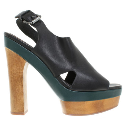 Marni for H&M Plateau-pumps with wood elements