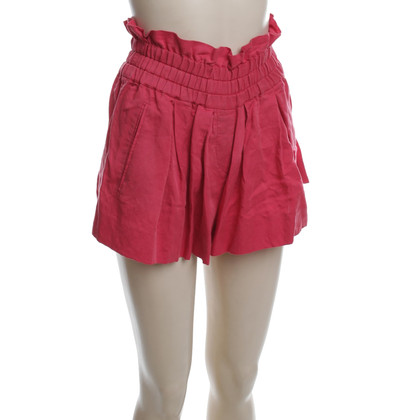 Isabel Marant Etoile Short Culottes in red