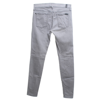 7 For All Mankind Skinny jeans in grigio