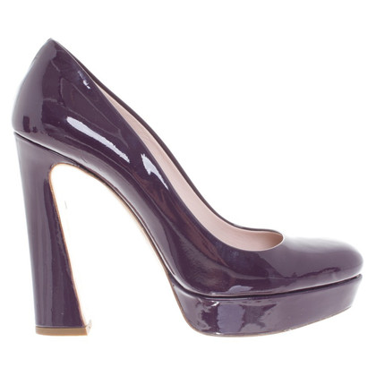 Miu Miu pumps in vernice
