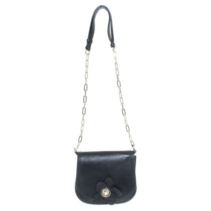Kaviar Gauche Little Paris flower bag in black