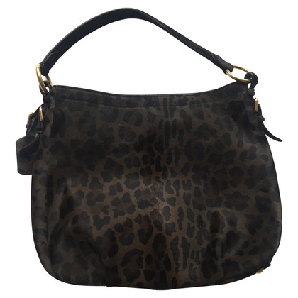 Prada Hobo Bag avec de la fourrure