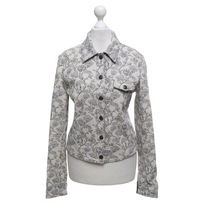 Armani Jeans Jacket with a floral pattern