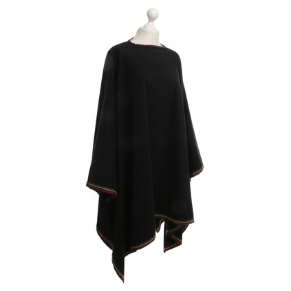 Hermès Cape from a wool blend