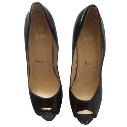 Christian Louboutin Peep-toes in black