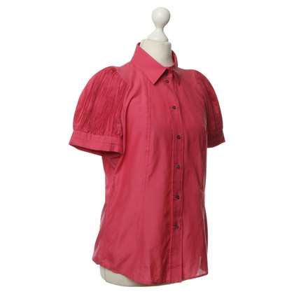 Hugo Boss Blouse with smocked sleeves