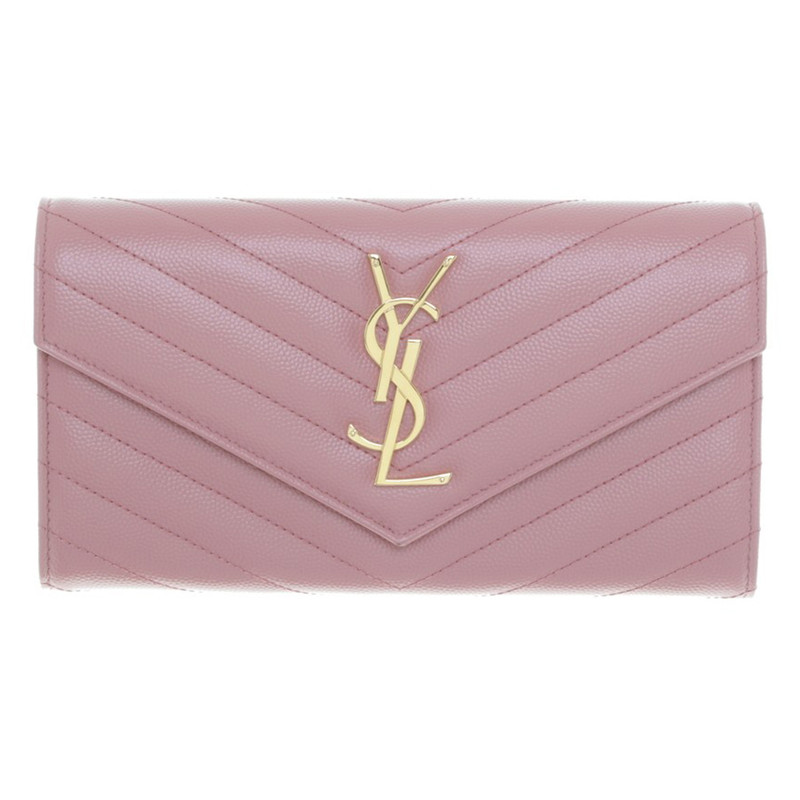 Yves Saint Laurent portafoglio in pelle Yves Saint Laurent portafoglio in  pelle ...