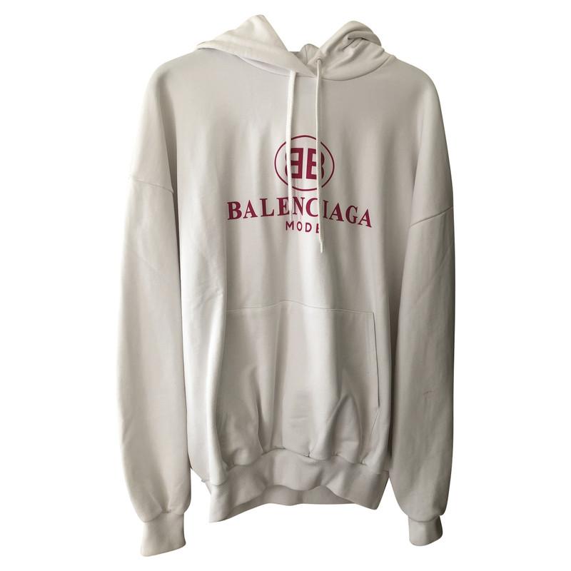 Balenciaga Knitwear Cotton in White