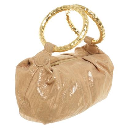 Jimmy Choo Golden evening bag