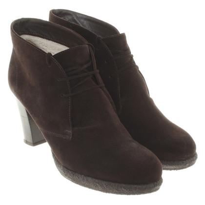 Unützer Ankle boots in dark brown
