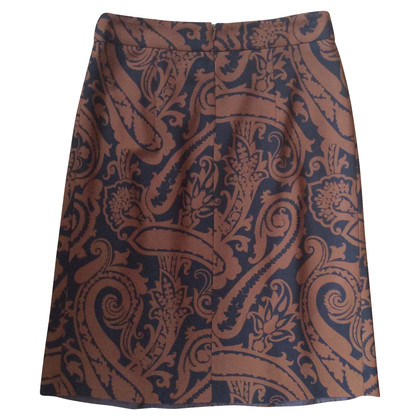 Etro skirt with floral pattern
