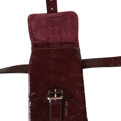 Miu Miu Small shoulder bag in Bordeaux