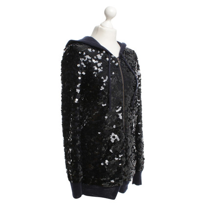 Joseph Sequined jacket in cashmere