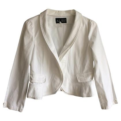 Armani Jeans Weiße Jacke